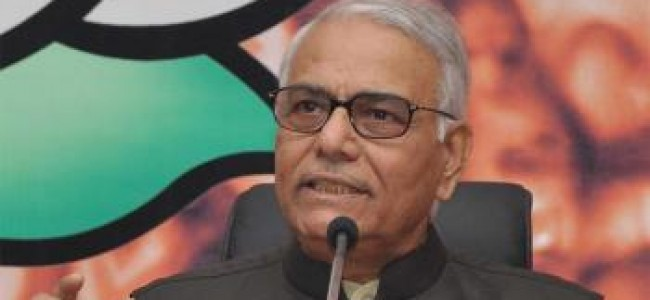 Yashwant Sinha-led panel asks govt to start Kashmir talks
