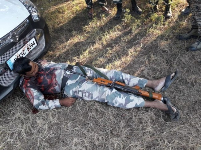Militant Attack CRPF in Batamaloo on personal injured