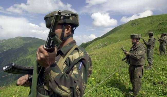 Militants Carried out Ramban Attach,The militants also sntached two rifles of the SSB men