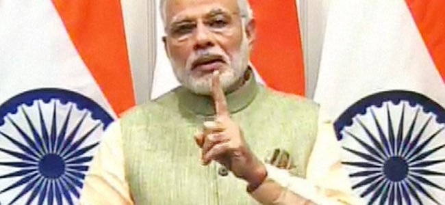 Red alert in Jammu and Kashmir on eve of Modi's visit