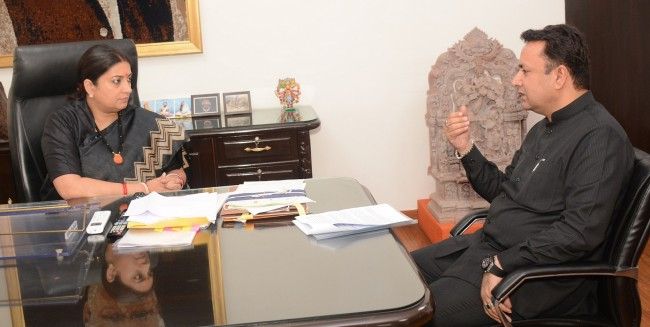 Zulfkar calls on Union Information Minister