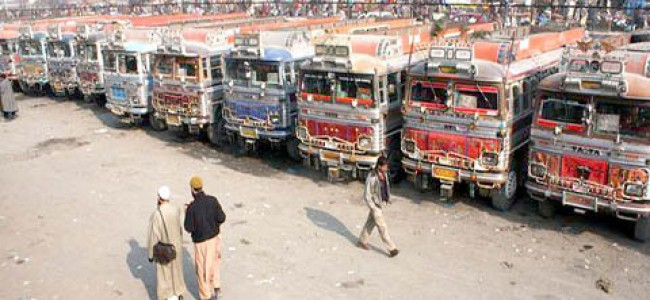 Transporters strike against shifting of GBS Batamaloo to Parimpora continues
