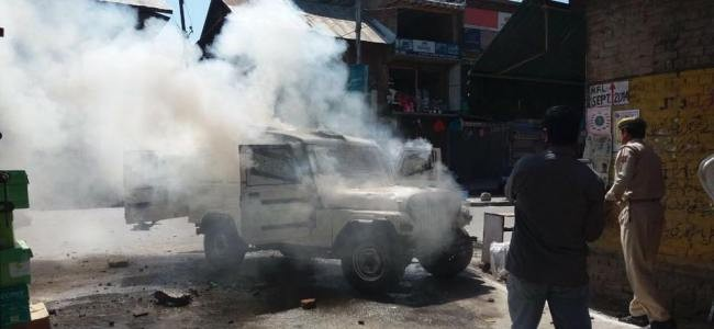Anantnag clashes: Police version