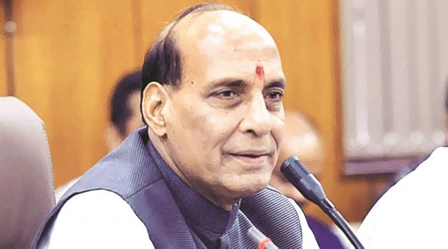Sharma will decide whom to talk to in Kashmir: Rajnath