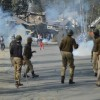 Clashes Rock Ajas Area of North Kashmir's District Bandipora