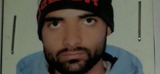 Mentally unsound person missing in Srinagar  Police seeks help of general public in tracing him
