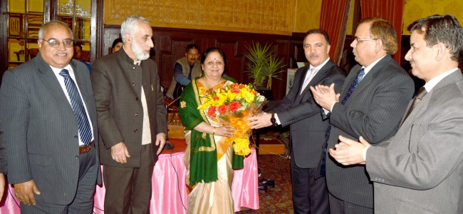 J&K Bank accords warm send-off to president