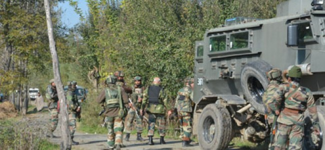 Forces launch search operation in Pulwama village