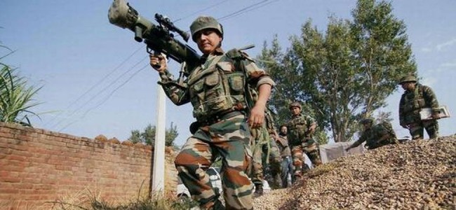 Two local militants have been killed in encounter in Sopore.