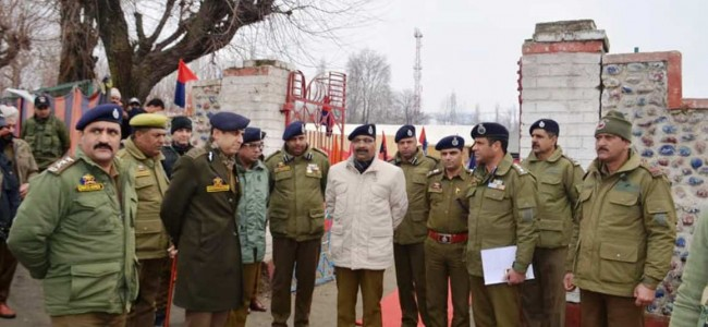 Armed Police is the backbone of the J&K Police: DGP Dilbag Singh