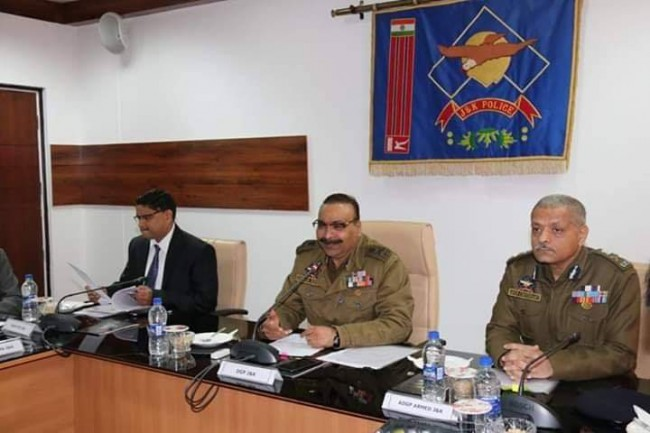 ✅DGP J&K chairs meeting to finalise the arrangement for the 26th January.