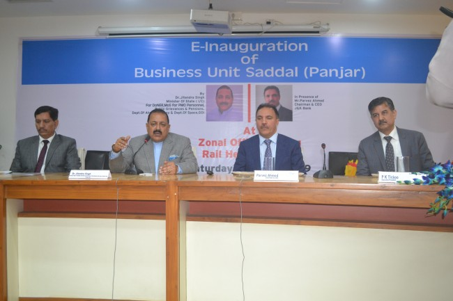 JK Bank launches Customer- Connect Initiative The Bank aims to grow by enabling growth of our constituents: Parvez Ahmed