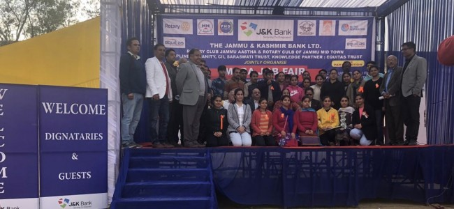 More than 100 youth placed in reputed companies J&K Bank and Equitas Development Trust hold Job Fair in migrant Township Jagti Nagrota
