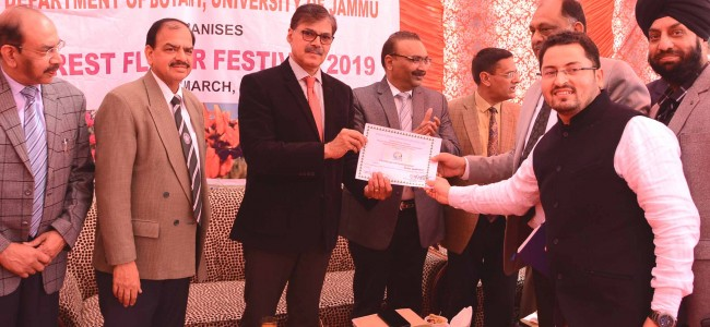 Advisor Kumar declares open Forest Flower Festival