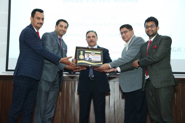 J&K ICAI Organizes Seminar on Bank Audit Strong banking sector indispensable for maintaining momentum of economic growth- Chairman JK Bank