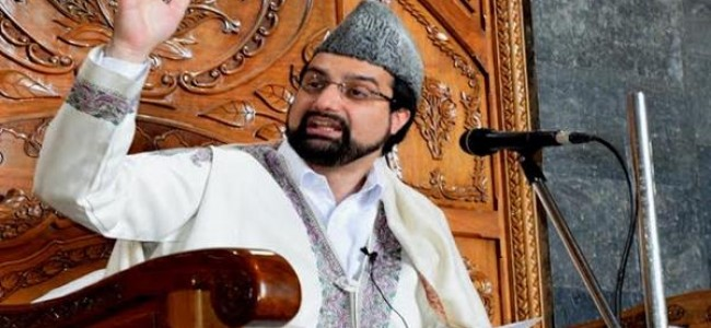 Two weeks later, Mirwaiz addresses people at Jamia Masjid
