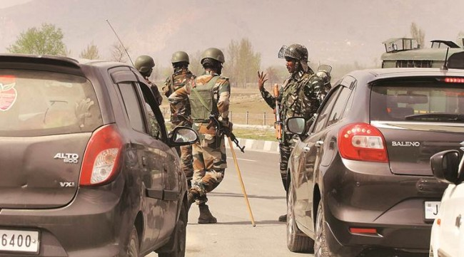 Forces launch search operation in Sopore Village