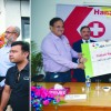 Press Club & Red Cross Jammu Felicitate Chairman JK Bank for initiatives of economic upliftment