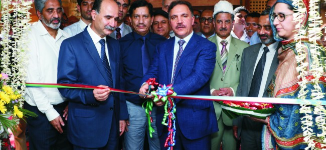 Chairman JK Bank dedicates AAS to cancer patients of the state under CSR