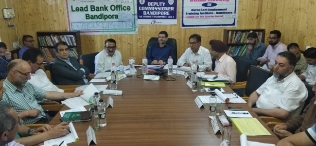 J&K Bank contributes 85 pc of total credit disbursement of Rs 542.69 Cr in Bandipora