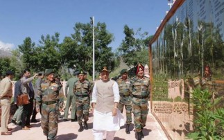 Resolution of Kashmir issue on cards: Defence Minister Rajnath Singh