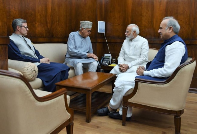 Don't take any steps that will worsen situation in valley – NC delegation to PM Modi