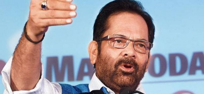 Kashmir was turned into 'hell of terror' under Article 370: Mukhtar Abbas Naqvi