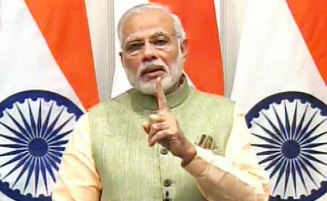 Want to go ahead by embracing people living in Kashmir: PM Modi
