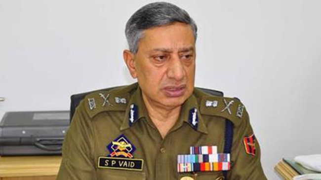 Over 200 militants killed in Jammu and Kashmir in 2017, says DGP Vaid