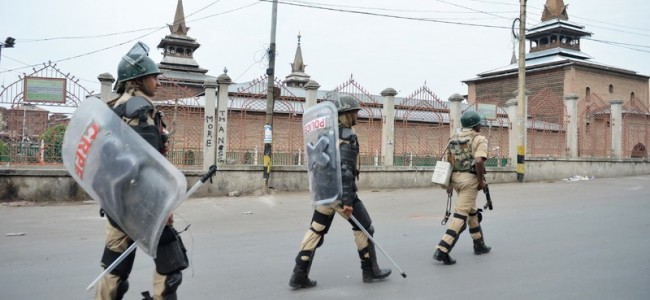 Restrictions in parts of Srinagar on Friday
