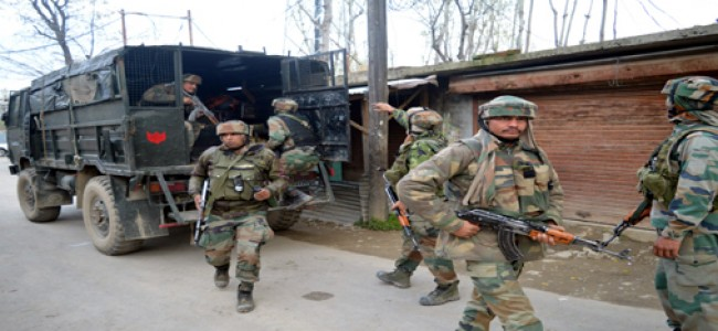 After month-long ceasefire, forces launch CASO in bijbehara village