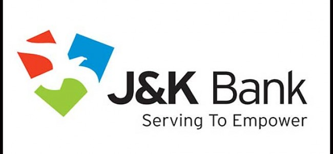 Intraday reports for Jammu and Kashmir Bank(JKBANK, 532209) Stock & Share Prices – November 3, 2017