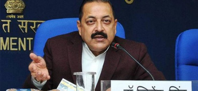 Pakistan promoting militancy in Jammu and Kashmir : Jitendra Singh