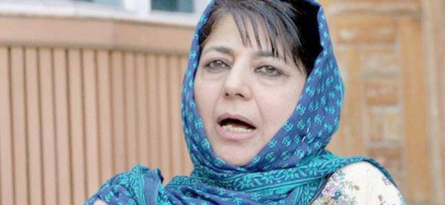 Mehbooba seeks dependable connectivity for Ladakh region, writes to Union Minister