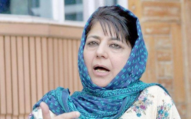 Mehbooba Mufti tweets on questioning of Farooq Abdullah
