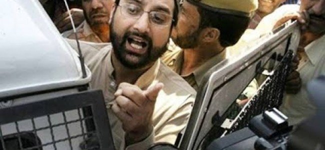 Mirwaiz placed under house arrest in Srinagar