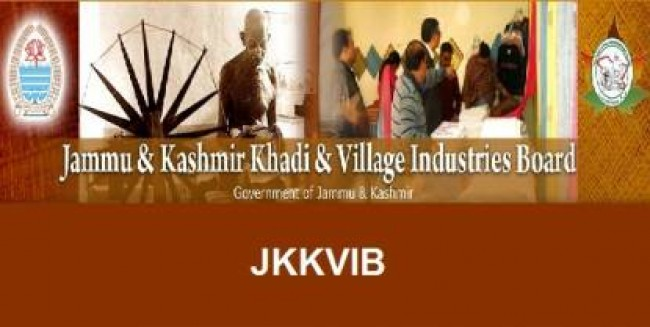Special Drive for unemployed Youth of Kashmir from 02nd October at KVIC Pampore
