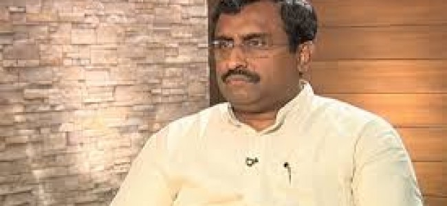 Article 35A is judicial matter and not a political one, says Ram Madhav