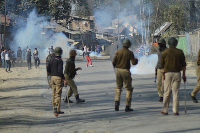 Violent protests erupt in Pulwama town