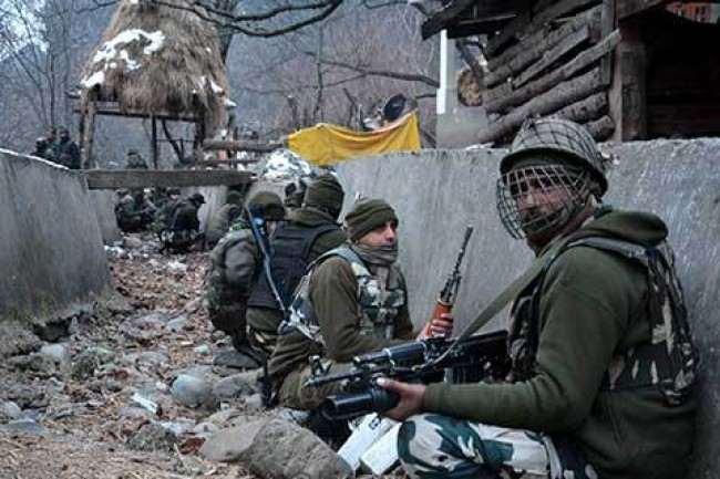 Gunfight erupts in Churath village of southern Kashmir's Kulgam