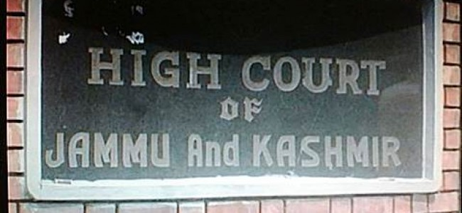 Three arrested with weapons in Jammu HC premises