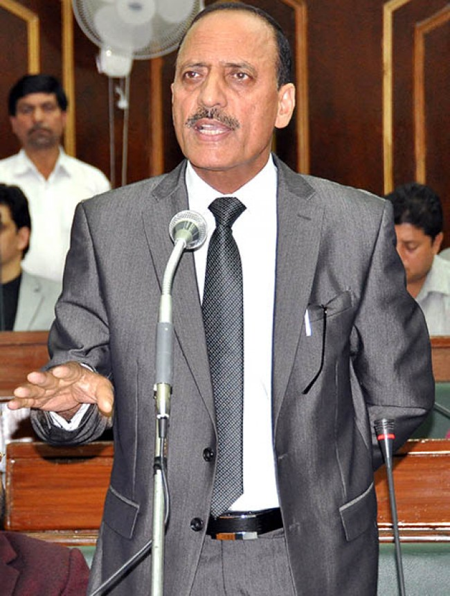 Abdul Haq calls on Chhattisgarh CM to discuss issues of JK students