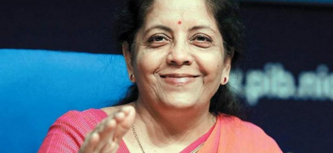 Security preparedness top priority of NDA govt: Sitharaman