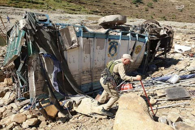 Two BSF men, civilian driver killed in Banihal truck accident