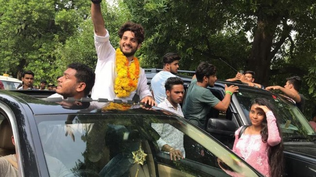 South Kashmir boy wins Delhi University college polls
