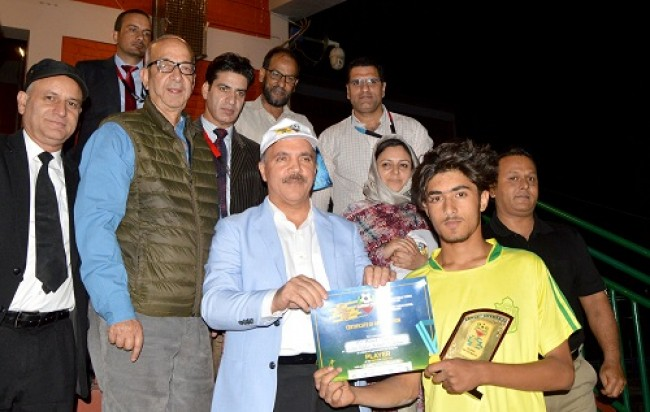 JK Bank to develop sports field at Narbal on modern lines