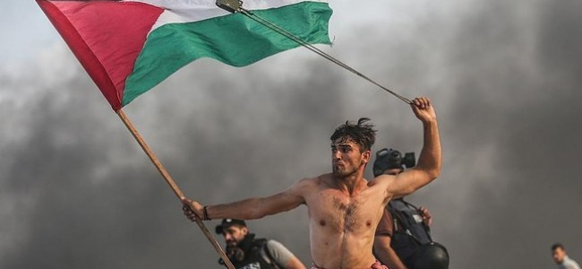 Israeli army injures iconic Palestinian protester in Gaza