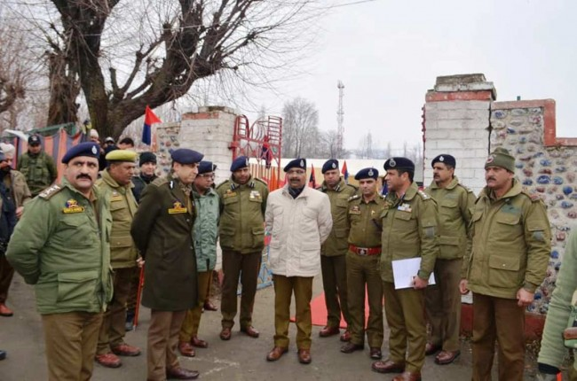 J&K Police on fore front of tackling the Pak sponsored terrorism: DGP