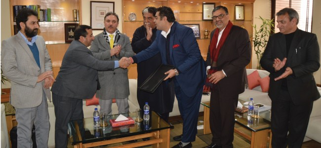 J&K Bank enters into MoU with Infomerics