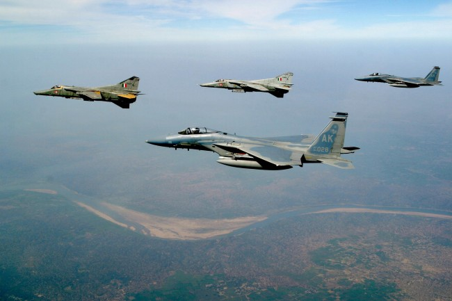 IAF carries out major readiness exercise near Pak border in J-K, Punjab
